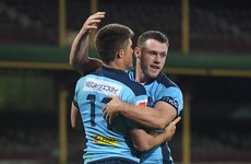 Gordon the hat-trick hero as Waratahs trounce Reds