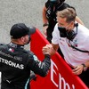 Valtteri Bottas snatches pole from Lewis Hamilton at 70th Anniversary Grand Prix