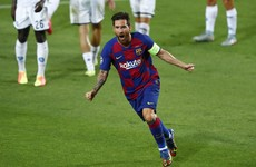 Lionel Messi brilliance helps Barcelona into Champions League last 8