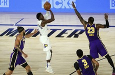 Warren and Pacers hand Lakers another loss as NBA playoffs loom