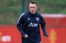 Phil Jones stays in Manchester as United jet off to Germany