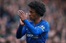 'I leave with my head held high' – Willian confirms Chelsea exit