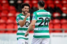 Shamrock Rovers hit quick double to go six points clear at the top