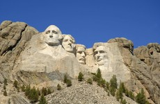 Donald Trump denies reports that he suggested putting his face on Mount Rushmore
