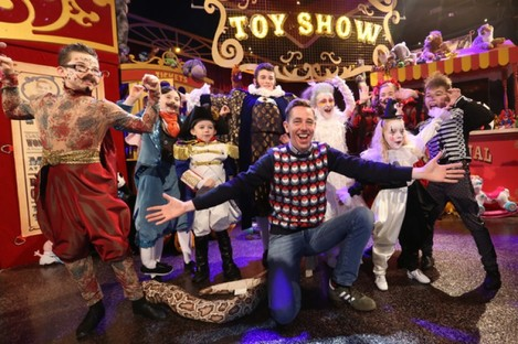 Ryan Tubridy on the Late Late Toy Show.