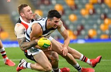 Good result for Irish duo O'Connor and Tuohy as Geelong jump to third in AFL
