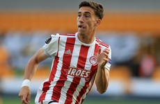 Liverpool confirm signing of Olympiacos defender Kostas Tsimikas