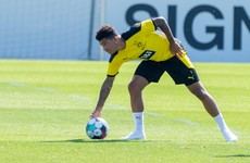 Sancho's Dortmund departure categorically ruled out despite talk of United move