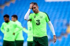 Veteran Irish defender Stephen Ward training with Ipswich Town after Stoke exit