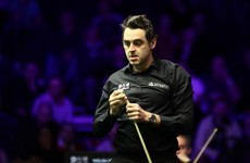 Ronnie O'Sullivan facing uphill battle with Mark Williams in control at the Crucible