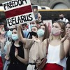 Belarus president brands opposition 'sheep' as protests against election result continue