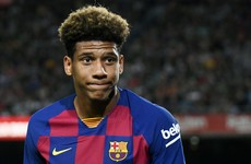 Barcelona reveal positive Covid-19 test for defender Todibo