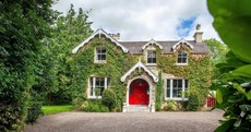 Ivy-clad and eye-catching: Period four-bed with its own tennis court in Co Cork