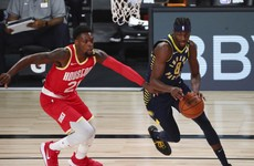 Pacers hold off Rockets despite Harden's 45 points