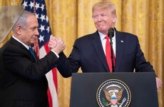 Trump hails 'historic' deal as Israel pledges to halt annexation of land in West Bank