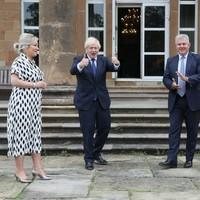 Boris Johnson unveils first steps towards marking centenary of Northern Ireland next year