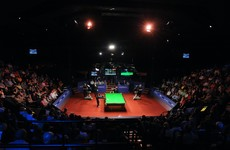 Fans to be allowed to attend Crucible final as UK pilot events resume from Saturday