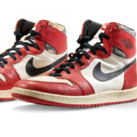 Michael Jordan sneakers fetch record-breaking price of $615,000 at auction