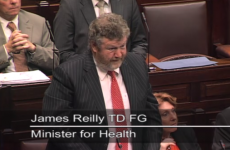 Video: Health Minister James Reilly's statement to the Dáil