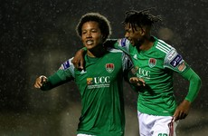 Cork City fire three goals in win over Sligo Rovers that lifts them off bottom spot