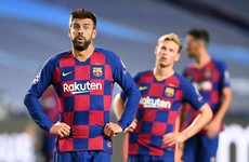 'We have hit rock bottom' - Pique demands drastic change at Barcelona after Bayern thrashing
