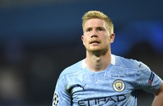 De Bruyne named Premier League Player of the Season ahead of Henderson