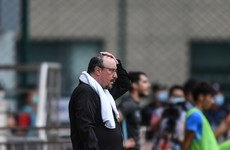 Rafa Benitez hits rock-bottom in China