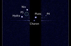 Hubble telescope spots fifth moon near Pluto