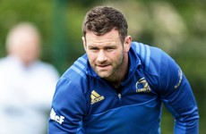 Big blow for Leinster's McFadden as injury rules him out for six weeks