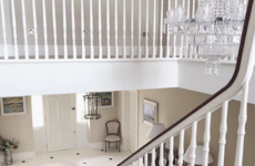 'I always wanted a big entrance hall': Inside Laura's impeccable Georgian-inspired self-build