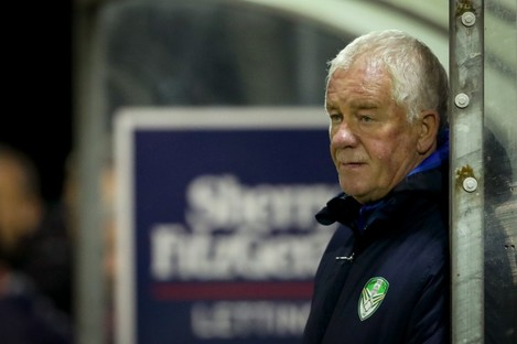 Cabinteely manager Pat Devlin.