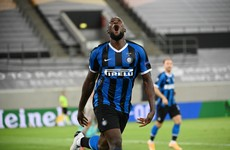 Double trouble as Lukaku and Martinez fire five-star Inter into Europa League final