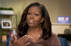 Michelle Obama urges Americans to vote for Biden 'like our lives depend on it'