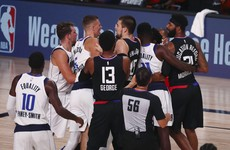 Doncic and Mitchell thrill in losing efforts as Clippers and Nuggets prevail in NBA playoff openers
