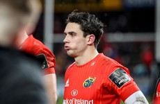 Another setback for Joey Carbery as Munster out-half ruled out indefinitely