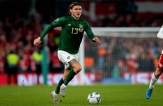 Ireland international Hendrick undergoing medical ahead of Newcastle move