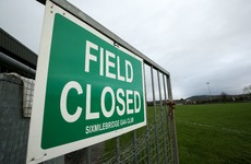 GAA sets limit of 40 people per team for 'behind closed doors' games