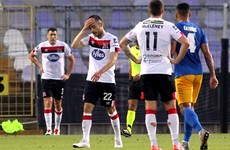 Sloppy errors cost Dundalk as they crash out of the Champions League