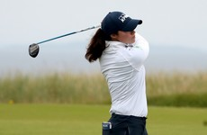 Maguire and Mehaffy battle the conditions at Women's Open