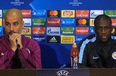 Yaya Toure wonders why Pep Guardiola is not 'in trouble' for Champions League exit