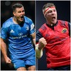 Leinster and Munster name locked-and-loaded teams for tomorrow