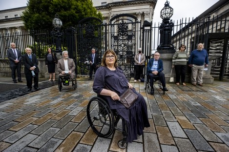 Jennifer McNern who sought judicial review photographed earlier this week.