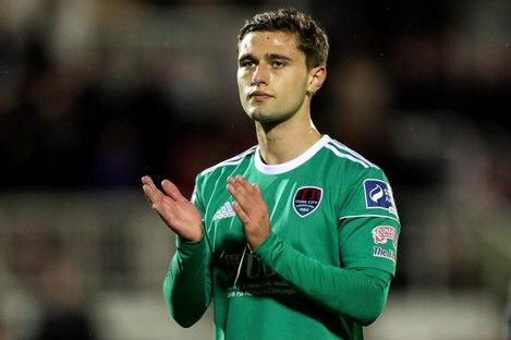 Eoghan Stokes at Cork City.