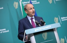 Micheál Martin removes party whip from three Fianna Fáil senators who attended golf event