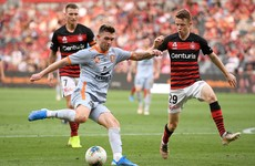 Irish midfielder O'Shea earns place in A-League Team of the Season