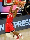 Raptors rip Nets apart and Boston hold off 76ers for 3-0 NBA playoff leads