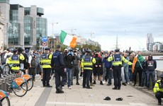 Four men arrested in relation to ongoing protests in Dublin