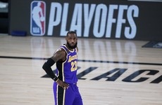 LeBron James closes in on NBA play-off record as Lakers take the lead