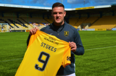 Irish striker Anthony Stokes is back in the Scottish Premiership