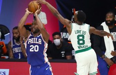 Celtics vanquish 76ers to advance in NBA playoffs